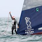 British Olympic champion Goodison involved in dramatic America's Cup capsize