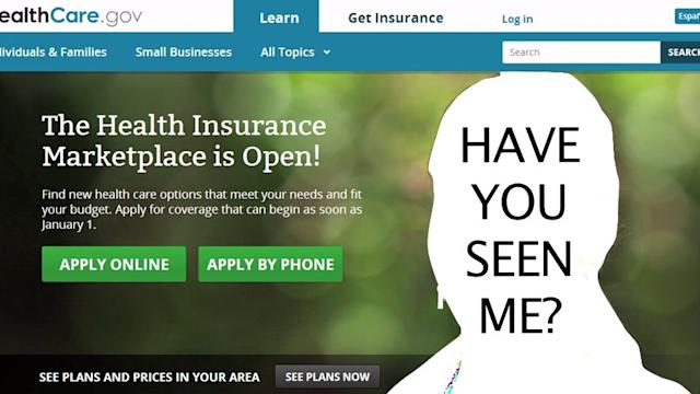 ObamaCare girl has vanished from the website
