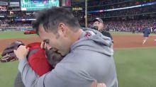Max Scherzer, Aníbal Sánchez share sweet moment after Nationals' World Series win