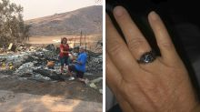 Man Finds Wife's Ring in Ashes and Re-Proposes