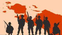TNI-Polri Kejar Kelompok KKB yang Tembaki Rombongan Polisi di Intan Jaya