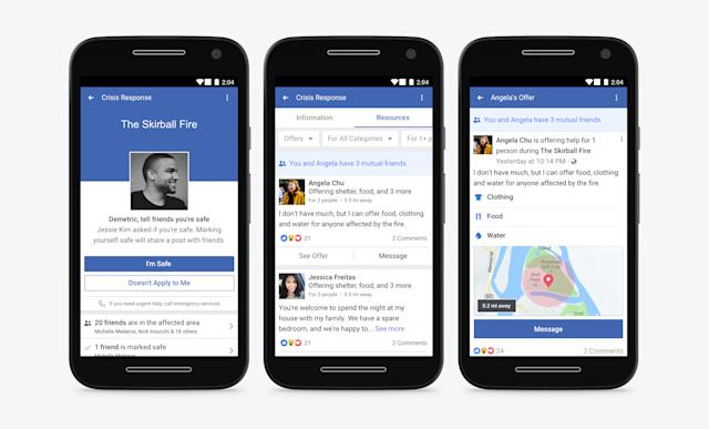 Facebook Lite adds Community Help crisis response tool