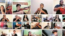 Tom Jobim é inspiração de vídeos inéditos de alunos da Orquestra nas Escolas