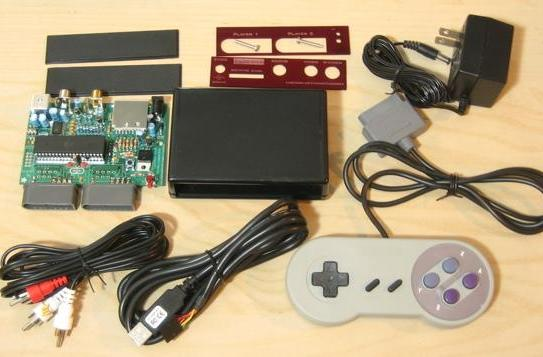 Fuzebox 8-bit DIY game console, strictly for those who'd rather DIY