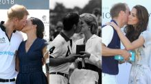 From Diana and Charles to Meghan and Harry: a history of royal PDAs