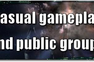 EVE Evolved: Casual gameplay and public groups