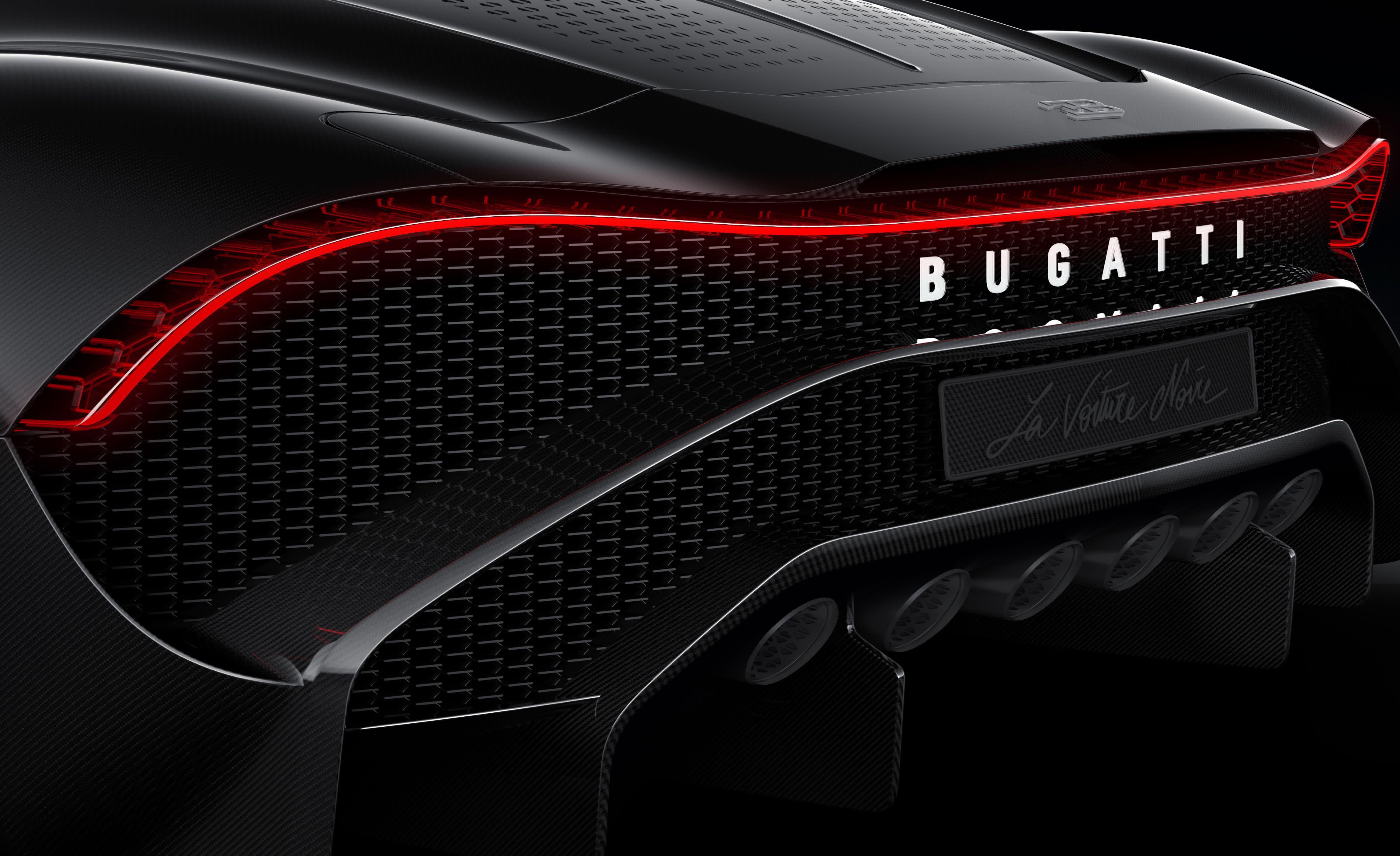 Every Angle of the $18 9 Million Bugatti La Voiture Noire