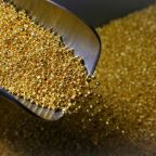 Gold holds steady as weak U.S. data offsets strong dollar