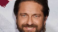 Gerard Butler Has No Chill When It Comes To Shaving His Beard