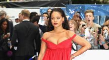 Rihanna y el vestido que le acentuó las curvas