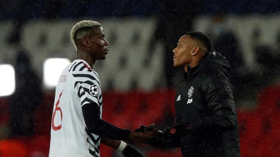 1-2. El Manchester United baja de la nube al PSG