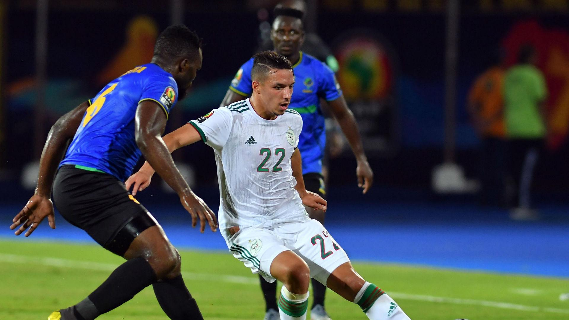 Image result for Bennacer algeria afcon