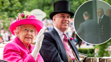 Controversial royal touches down in Australia