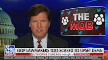 Tucker Carlson won't apologize, blames liberal 'mob' for outrage over misogynistic remarks