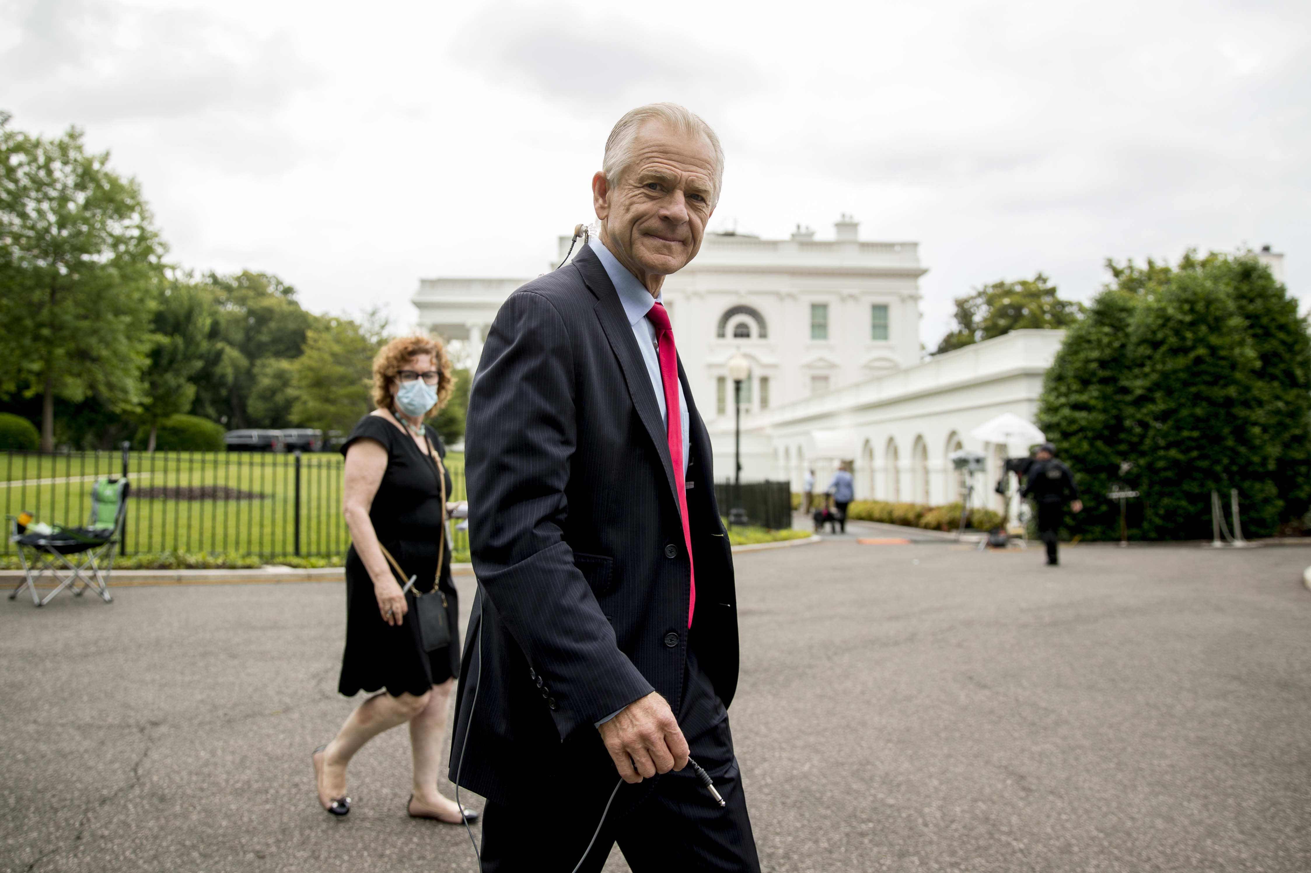White House blocks Navarro from testifying to House panel about ventilator deal