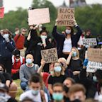Thousands gather at Hyde Park to support protests against police brutality