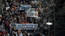 Espanha tem protestos maciços por 'pensões dignas'