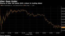Após decepção de IPO, ação do Uber está no foco de investidores
