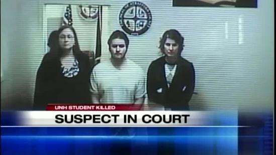 Suspect in UNH student killing in court