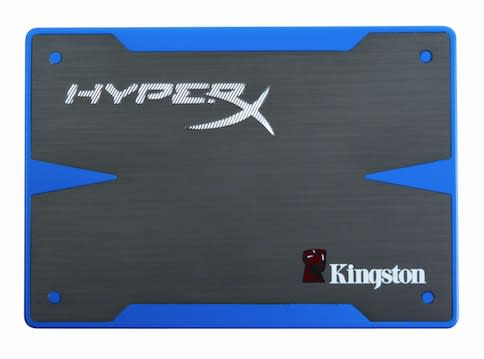 Kingston HyperX SSDs now shipping, SandForce-equipped for Hyperspeed