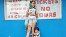 Meet Bria Vinaite and Brooklynn Prince, breakthrough mother-daughter duo of 'The Florida Project'