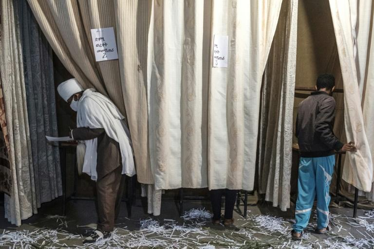 Voting proceeded peacefully Wednesday, and the election commission has reported turnout of greater than 97 percent
