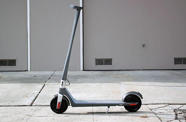 Unagi's high-end electric scooter is a mix of design and power