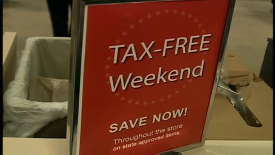 Shoppers take advantage of sales-tax holiday