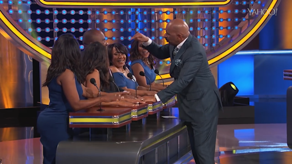 Steve Harvey Deems 'Family Feud' Contestant's Answer 'Too