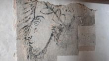Centuries-old Sir Walter Raleigh 'self-portrait' discovered in the Tower of London, after visitors knock wall