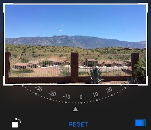 iOS 8 camera app: Smart Composition