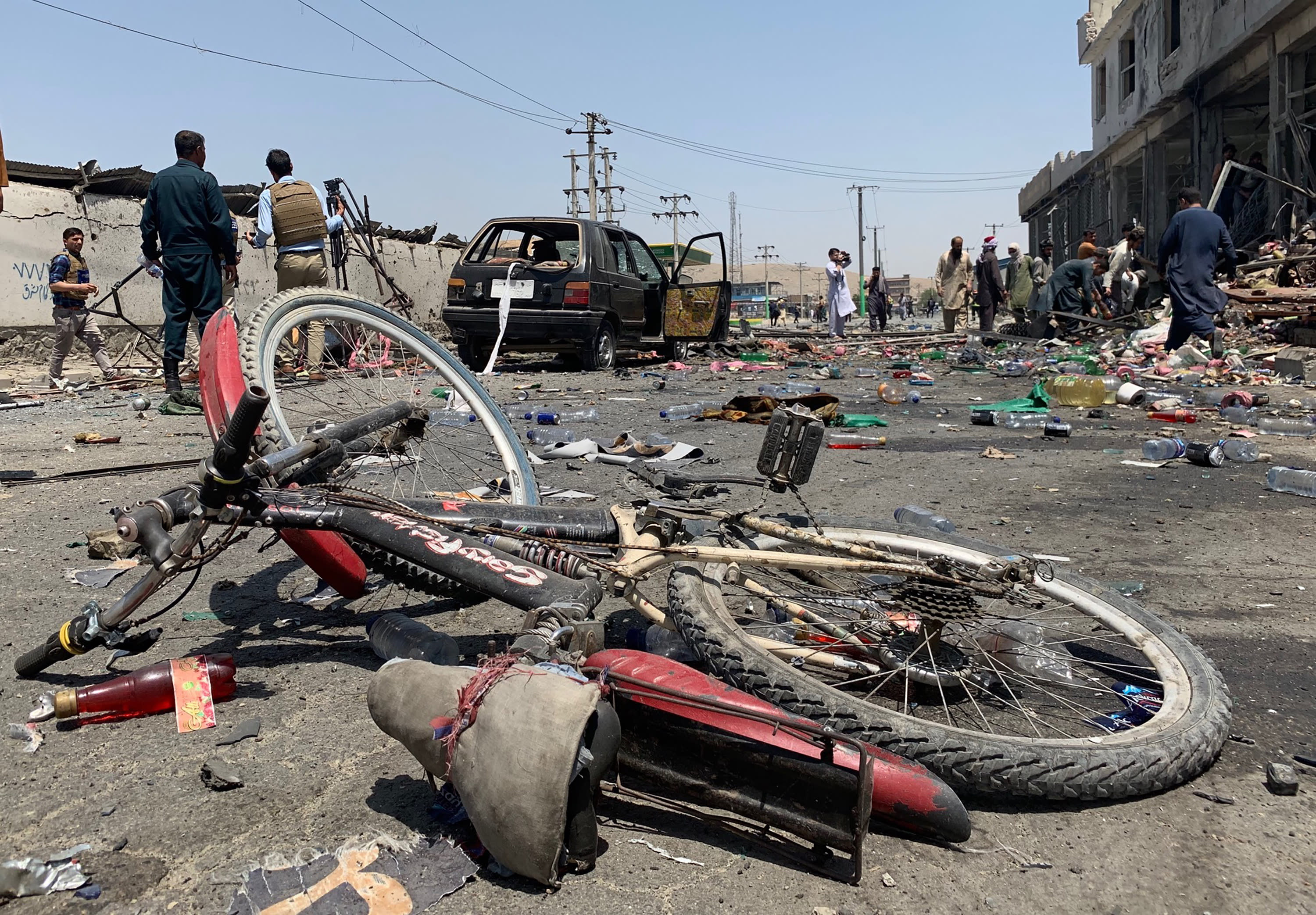 Three bombs kill at least 12, wound dozens in Afghan capital