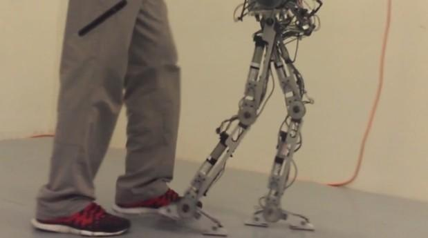AMBER robot walks on human-like feet but isn't quite ready for British Knights