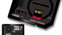 SEGA主機變SD Card 下月發售有Mega Drive