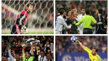 Casillas: 20 temporadas de Champions en imágenes