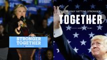 RNC uses Hillary Clinton's 'Stronger Together' slogan for Trump