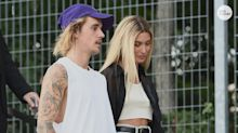 Hailey Baldwin gives Jimmy Fallon props for kindling 'spark' with husband Justin Bieber