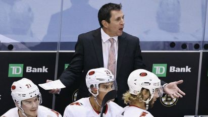 NHL fines Hurricanes coach for arguing call