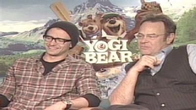Gino Sits Down With The Stars Of 'Yogi Bear'