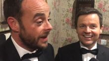 Ant McPartlin opens up backstage at the National Television Awards