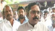 TTV Dhinakaran asks 18 disqualified MLAs to move to resort near Tirunelveli till Madras HC verdict