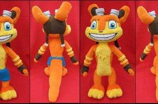 Daxter plushie is incredibly adorable