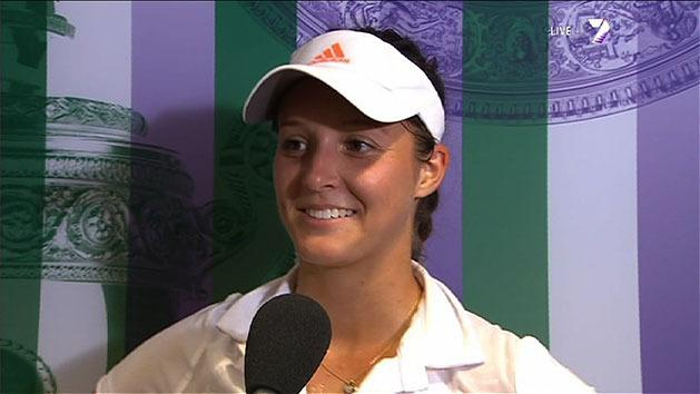Post Match Interview: Laura Robson