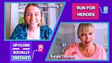 """Olivia Strong is rallying runners to support care workers: """"It feels like the whole of the UK are behind them - it's so lovely"""""""