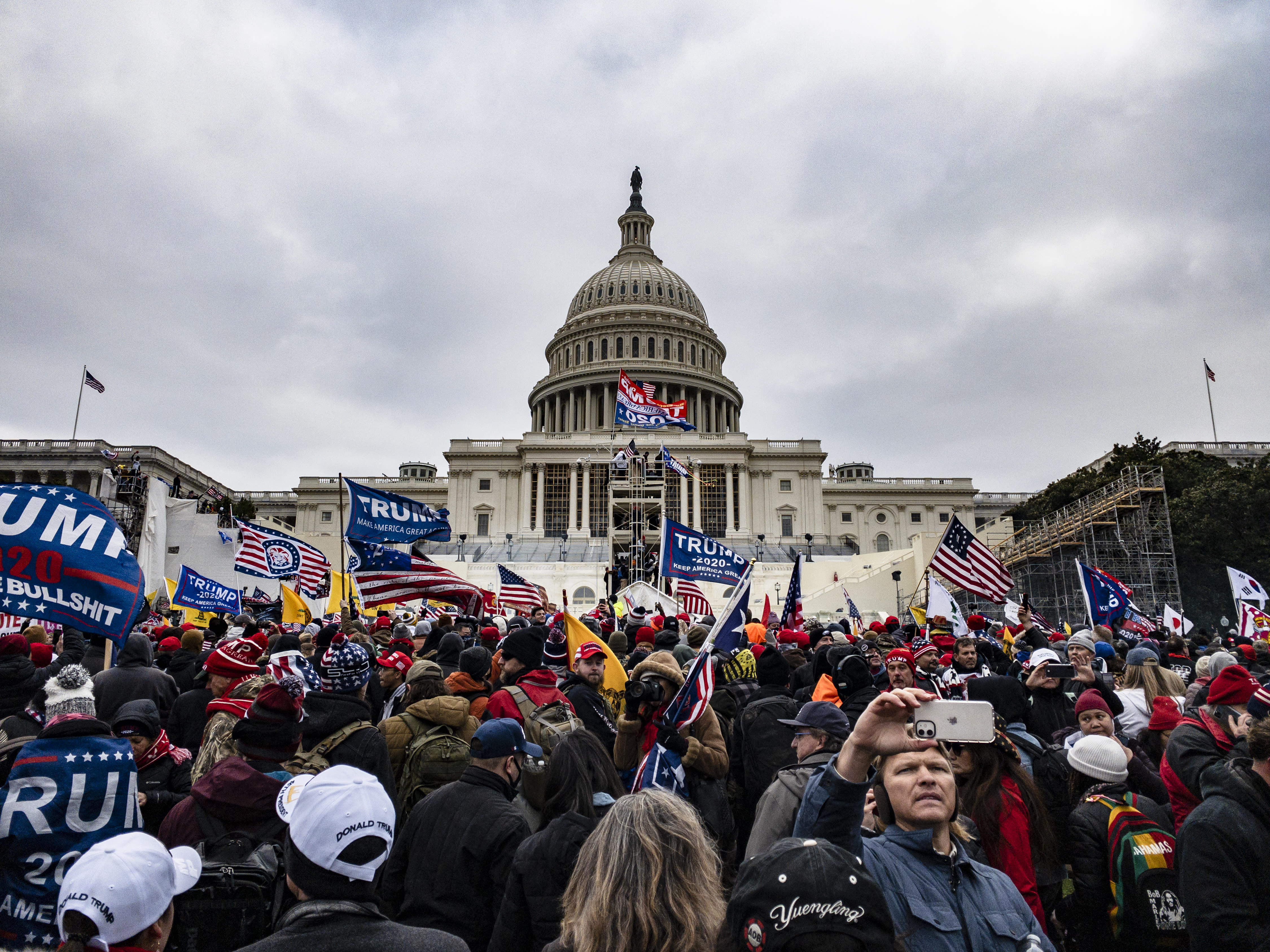 Conspiracy theory blames FBI for Capitol riot