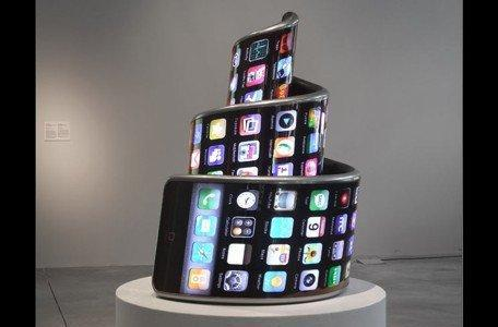 Apple products featured in London art exhibit