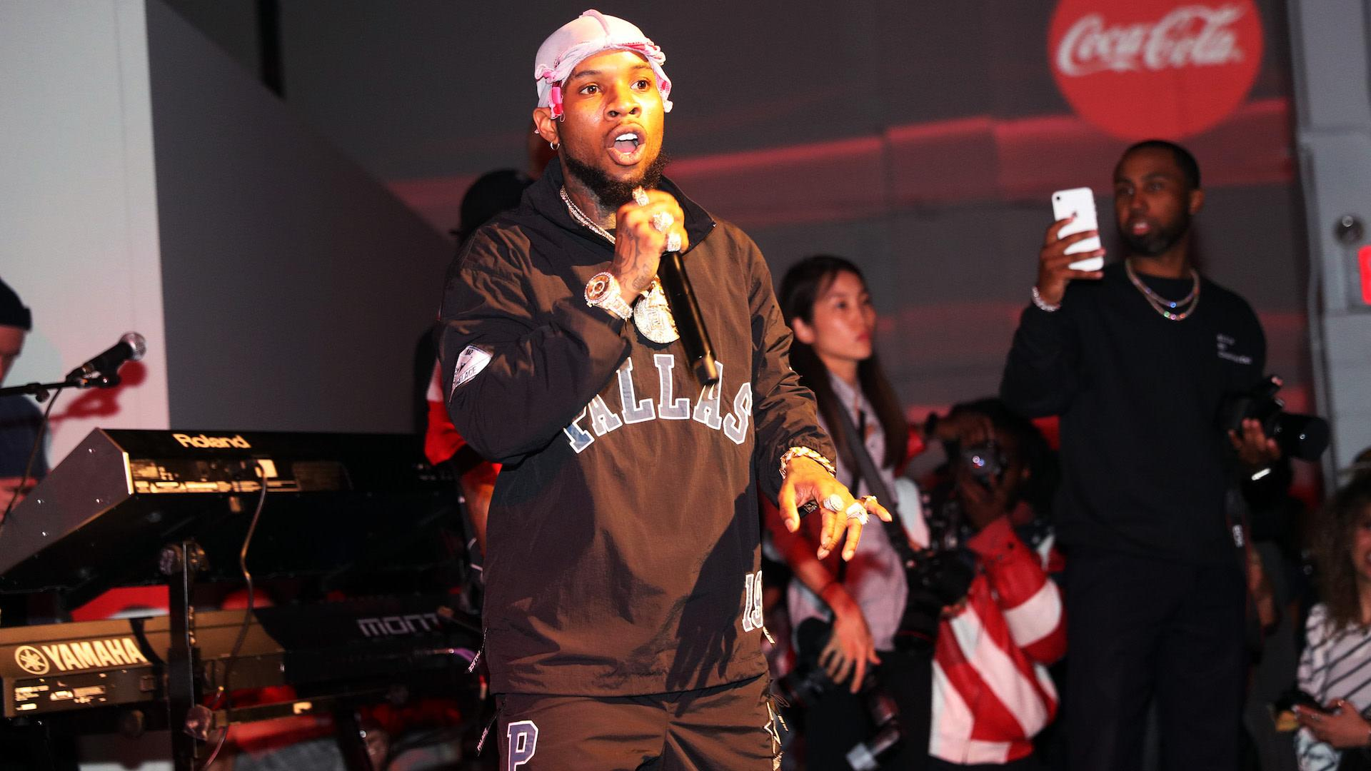 Tory Lanez Arrested On Gun Charge Following Police Search Megan Thee Stallion Was With Him