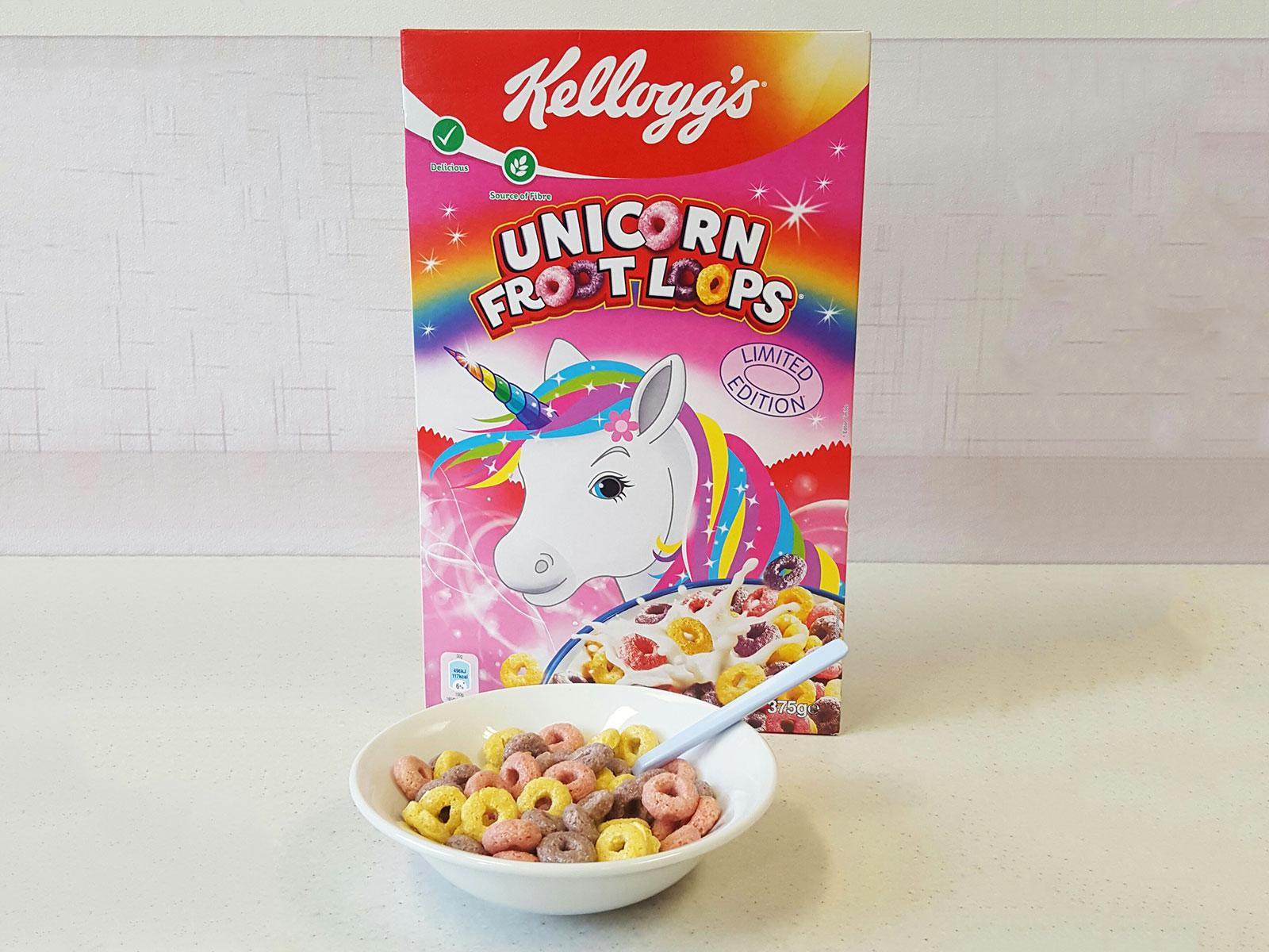 Limited Edition Unicorn Froot Loops Are In Supermarkets Now