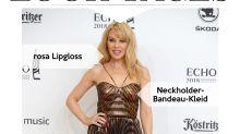 Look des Tages: Kylie Minogue glänzt beim Echo 2018 im Metallic-Kleid