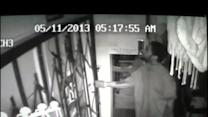 RAW VIDEO: Kimmers Discount Store arson suspect